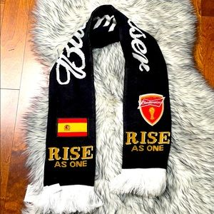 Budweiser Spain Scarf 2014 World Cup in Brazil